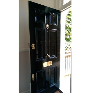 Example Of A 6 Panel Victorian Front Door Peco Of Hampton Surrey