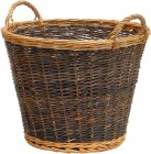 DuoTone Wicker Basket