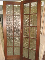 Pair of Mahogany Doors 0805