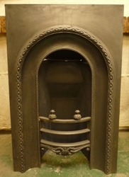 reclaimed cast iron insert
