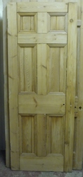 Georgian 6 panel internal door 762 x 1950mm