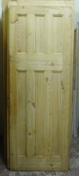 Reclaimed 1930's 6 panel door 695 x 1912mm