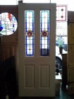 Stained Glass Window And Door