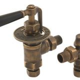 Carron Throttle 15mm Manual Valve (Antique Brass)