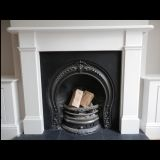 Example of completed fireplace