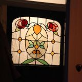 Edwardian Front door glass