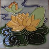 Set Of Waterlily tiles