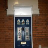 Edwardian 3 over 2 front door in Accoya