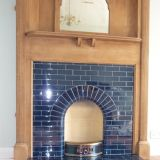 1930's fireplace