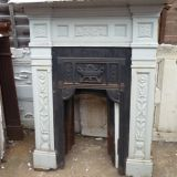Unrestored Fireplaces
