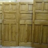 Reclaimed 5 and 6 panel doors